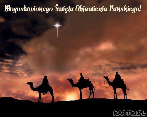 Błogosławionego Święta Objawienia Pańskiego