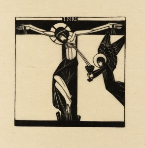 Jesus Dies Upon the Cross 1917 Eric Gill 1882-1940 Transferred from the Library 1979 http://www.tate.org.uk/art/work/P08062